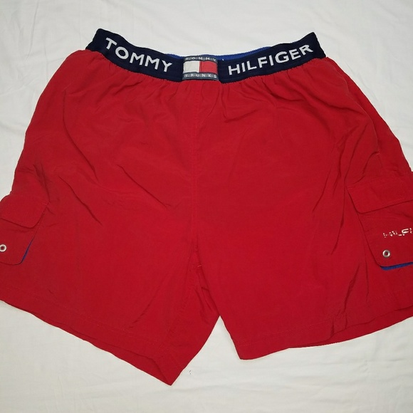 09b0ab43e4 Vintage 90s Tommy Trunks Red XL C17. M_5ab1645d31a376e2b0456c0f. Other  Swims you may like. Tommy Hilfiger Swimwear